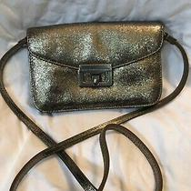 Marc by Marc Jacobs Silver Clutch Crossbody Bag Metallic Evening Bag Photo