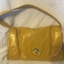 Marc by Marc Jacobs Totally Turn-Lock Yellow Patten Leather Detach Strap Clutch Photo