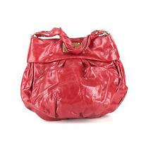 Marc by Marc Jacobs Women Red Leather Satchel One Size Photo