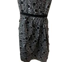 Marc by Marc Jacobs Womens Cotton/acrylic Fitted Mini Dress Black Size 0 Photo