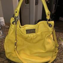 Marc by Marc Jacobs Yellow Leather Hobo Shoulder Bag Ret 363 Photo