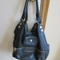 Marc by Marcjacobs Hobo Bag Black All Weather Leather Large  Photo