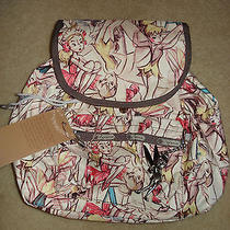 Marc Davis Vintage Tink Tinker Bell Fairy Disney Lesportsac Small Edie Backpack Photo