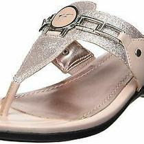 Marc Fisher Womens Amina Split Toe Casual Slide Sandals Blush Size 11.0 Fboz Photo