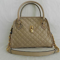 Marc Jacob Lacquered Quilting Classic Ivory Satchel Photo