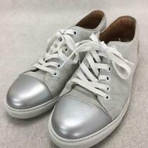 Marc Jacobs  40 Wht Cowhide Size 40 White Low Cut Sneaker 226 From Japan Photo