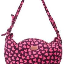 Marc Jacobs Bag Wild at Heart Pink Purple Sling Zip Top Hobo Large Slouch Purse Photo