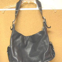 Marc Jacobs  Black  Leather  Purse Hobo Handbag  Authentic  Photo