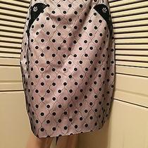 Marc Jacobs Black Pink Faded Blush Tulle Polka Dot Mini Skirt Us 10 Nwt 198 Photo