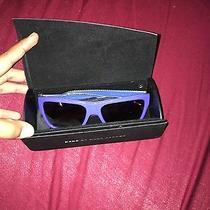 Marc Jacobs Blue Sunglasses Photo
