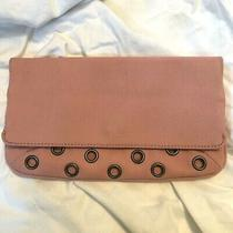 Marc Jacobs Blush Pink Circle Clutch Bag Canvas  Photo