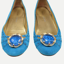 Marc Jacobs Bright Blue Suede Ballet Flats. Size 38.5 (8.5). Great Condition   Photo