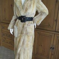 Marc Jacobs Collection Luxurious Chinchilla Rex Coat Photo