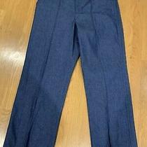 Marc Jacobs Designer Denim Pants  S. 10 New Orig 400 Blue Denim. Ankle Length Photo