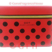 Marc Jacobs Dot Cosmetics Container Marc Jacobs Cosmtetic Zippered Case Box New Photo