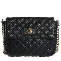 Marc Jacobs Lacquered Lambskin Quilted the Large Single Flap Black Photo