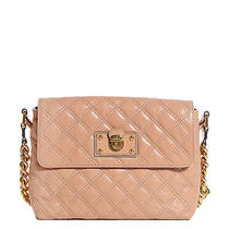 Marc Jacobs Lacquered Lambskin the Large Single Flap Blush New Photo