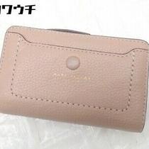 Marc Jacobs M0013051 Empire City Bi-Fold Short Wallet Pink System Women 'S Photo