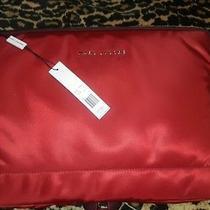 Marc Jacobs Merlot Laptop/note Carry Bag Photo