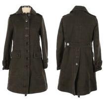 Marc Jacobs Military Green Heavy Cotton Coat Jacket Size Extra Small S Xs Photo