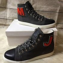 Marc Jacobs Parker Varsity High Top Trainers Sneakers Shoes Us 12 Photo