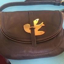 Marc Jacobs Petal to the Metal Bird Grey Purse Photo