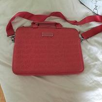 Marc Jacobs Pink Laptop Computer Bag Case Photo