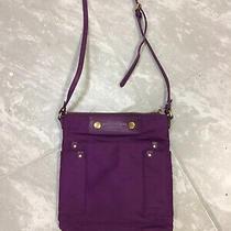 Marc Jacobs Purple Grape Nylon Crossbody Small Shoulder Bag Purse  Euc Photo