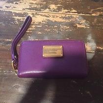 Marc Jacobs Purple Wallet Photo