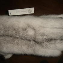 Marc Jacobs Rare Runway mink&leather Men's Gloves Fits Size  Large Photo