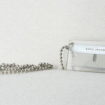 Marc Jacobs Razor Blade Necklace