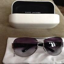 Marc Jacobs Silver Metal Sunglasses  Photo