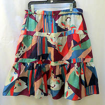 Marc Jacobs Skirt 4 Silky Graphic Abstract Photo