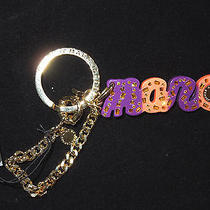 Marc Jacobs Violet Name Keychain Key Chain Retail 65 Photo