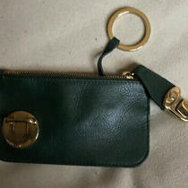 Marc Jacobs Women Black Leather Coin Purse One Size Nwot Photo