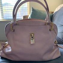 Marc Jacobs Womens Blush Pink Leather Gold Zipper Lock Purse Handbag Bag Lock Photo