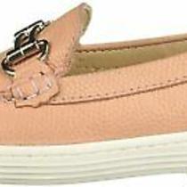 Marc Joseph New York Children Shoes Double Bit Blush Pebble Grainy Size  Vfrz Photo