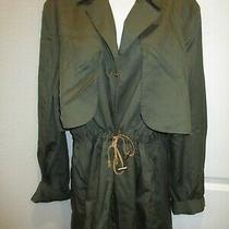 Marc New York Andrew Marc Army Green Jacket Long Sleeve New Size L Photo