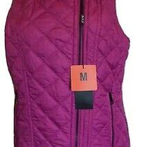 Marc New York Andrew Marc Fuscia Pink Womend Vest Size M Nwt Photo