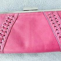Marc New York Andrew Marc Large Pink Wallet  Photo