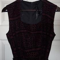 Marc New York Black / Red Dress Sleeveless Size 4 Nwot Photo