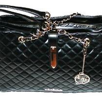 Marc New York Black Tote/purse/handbag Chain Straps Photo
