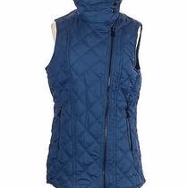 Marc New York by Andrew Marc Performance Women Blue Vest S Photo
