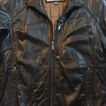 Marc New York Leather Jacket S New Photo