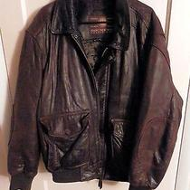 Marc of Ny Men's Leather Bomber Jacket Photo