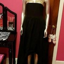 Marchesa Notte Dress Gown Gold Black Sequins Elegant Prom Event Wedding Sz 12 Photo