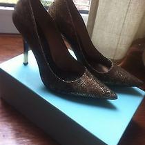 Marciano Gold Detail Pumps Photo