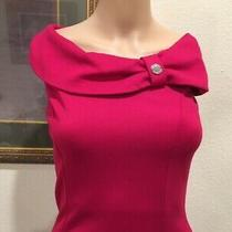 Marciano Guess Dress Pink Off the Shoulders Size 40/ Us 4 Photo