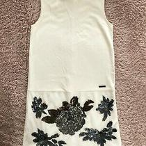 Marciano Guess Girl's Dress Size 10 Off White With Sparkles Party Truly Nice Photo