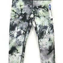 Marika Womens Fireworks Forest Retro Christy Tie Dye Print Capri Leggings Xs 55 Photo